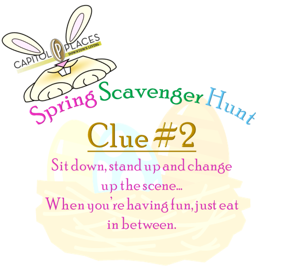 Clue #2... Until someone finds it, we'll keep going! #CapitolPlaces #Spring #ScavengerHunt #Canyouguess #FindtheEgg #MainStreet #Leasing #SodaCity . . . [803-779-5171 http://capitolplaces.com ] #Apartments #ColumbiaSC #DowntownLiving #LoftsatLouries #Barringer #Tapps #Kress #Berrys