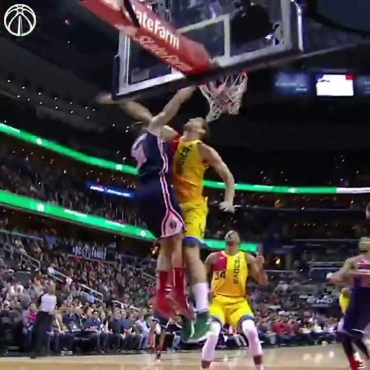 """""""He knows that he belongs. He knows that he can play well.""""   The very best dimes, dunks, and drives from Sato's 2018-19 season.  @Satoransky   #DCFamily"""