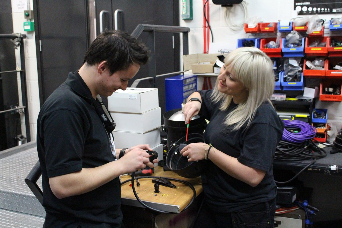 VACANCY!  We are looking for experienced Technicians to join our busy team here at Birmingham Hippodrome. Find out more: https://bit.ly/2A8Uq7y #ArtsJobs #Technician #TechnicianJob