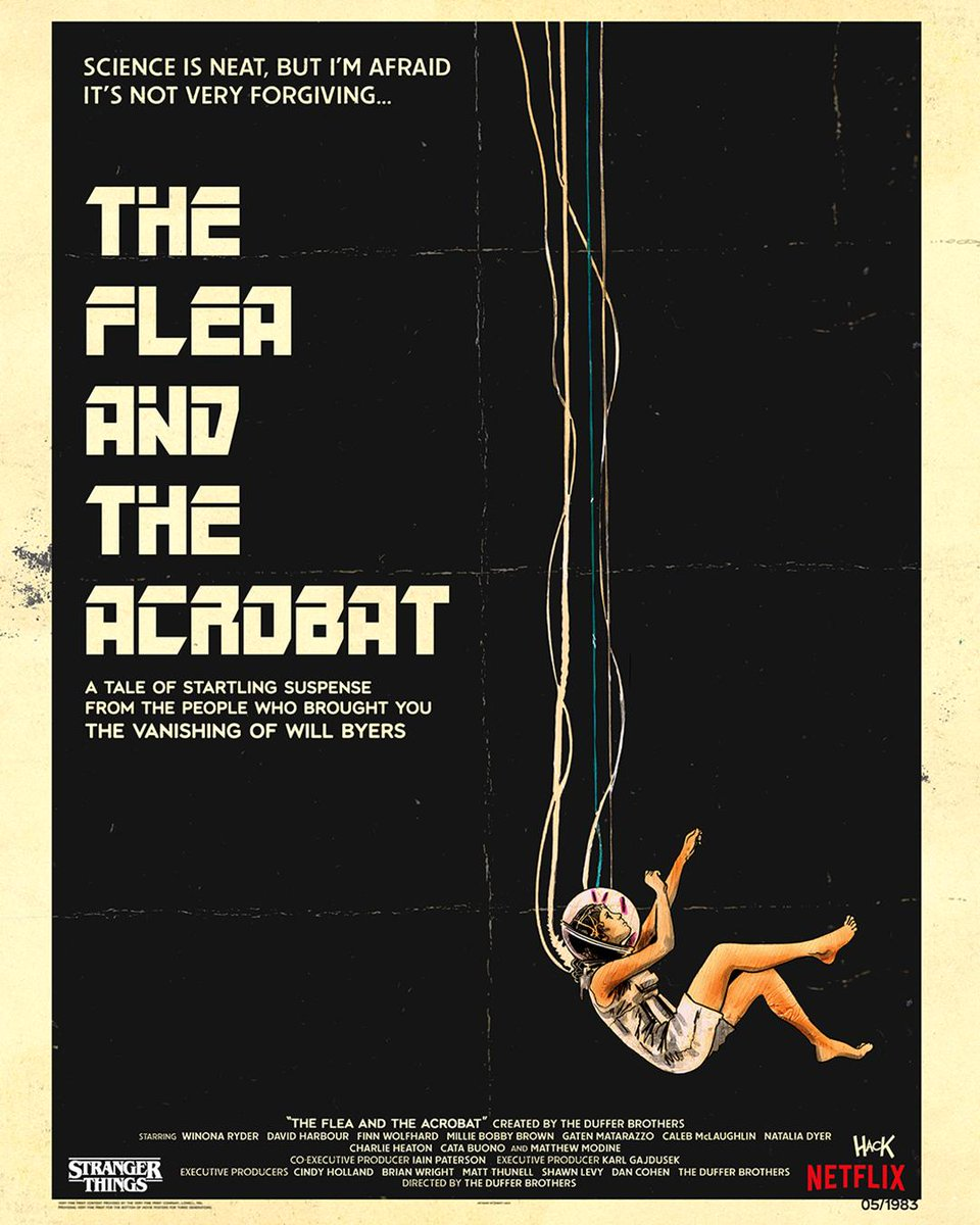Science is neat. But I'm afraid it's not very forgiving. The Flea and the Acrobat by @Robert_Hack.