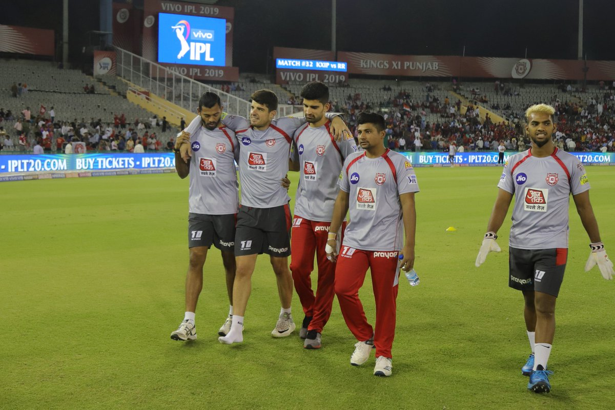 IPL 2019: Kings XI Punjab to Continue Without any Replacement for Injured Moises Henriques