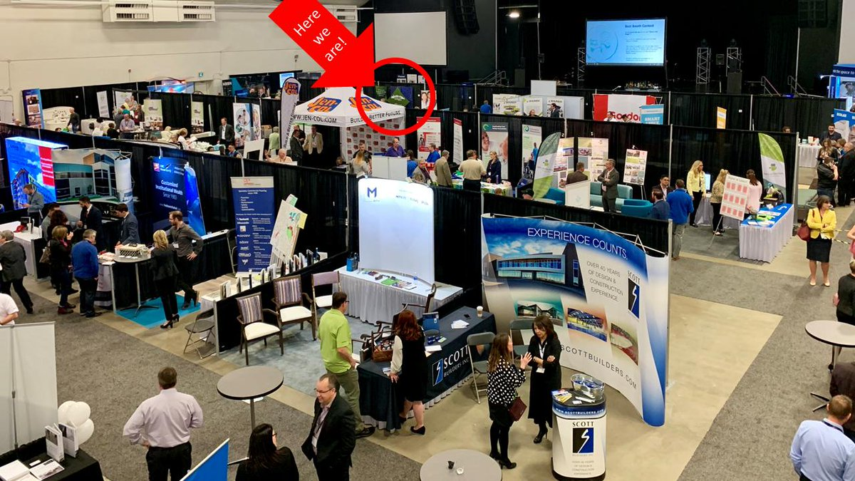 Having trouble finding the AUMA booth at the ASCHA trade show? We thought we'd make it a bit easier for you. #ASCHA19