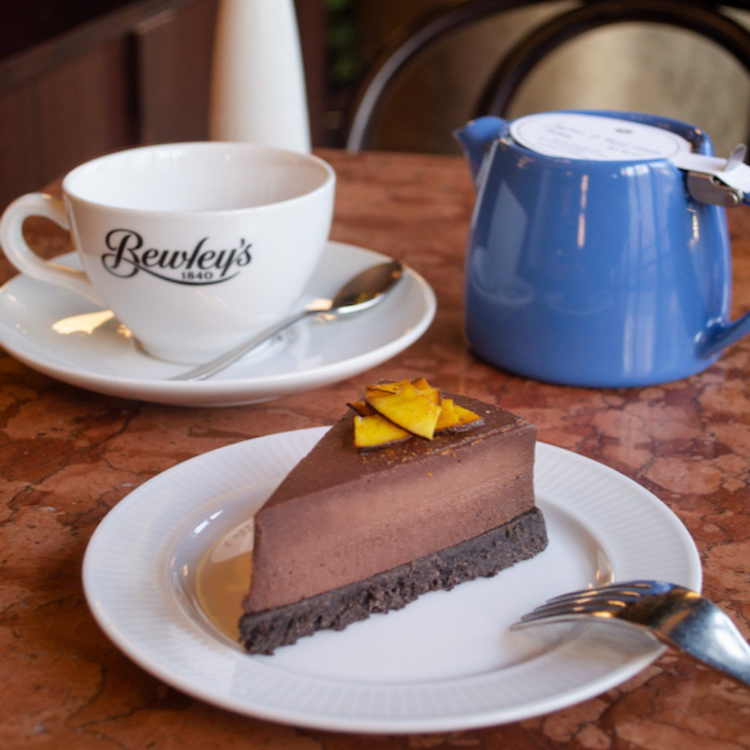 From Chocolate Mousse Cake to Aubergine and Banana Brownies, we've got your vegan sweet tooth covered at the café. #Bewleys #BewleysBest #BewleysGraftonStreet
