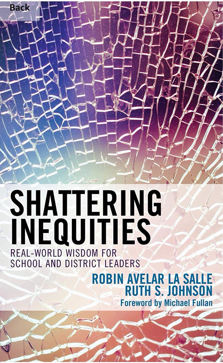 A Thread Written By Stefguene A Thread Of Key Points From New Book Shattering Inequities By Robin Avelar La Salle Amp Ruth S Johnson Of