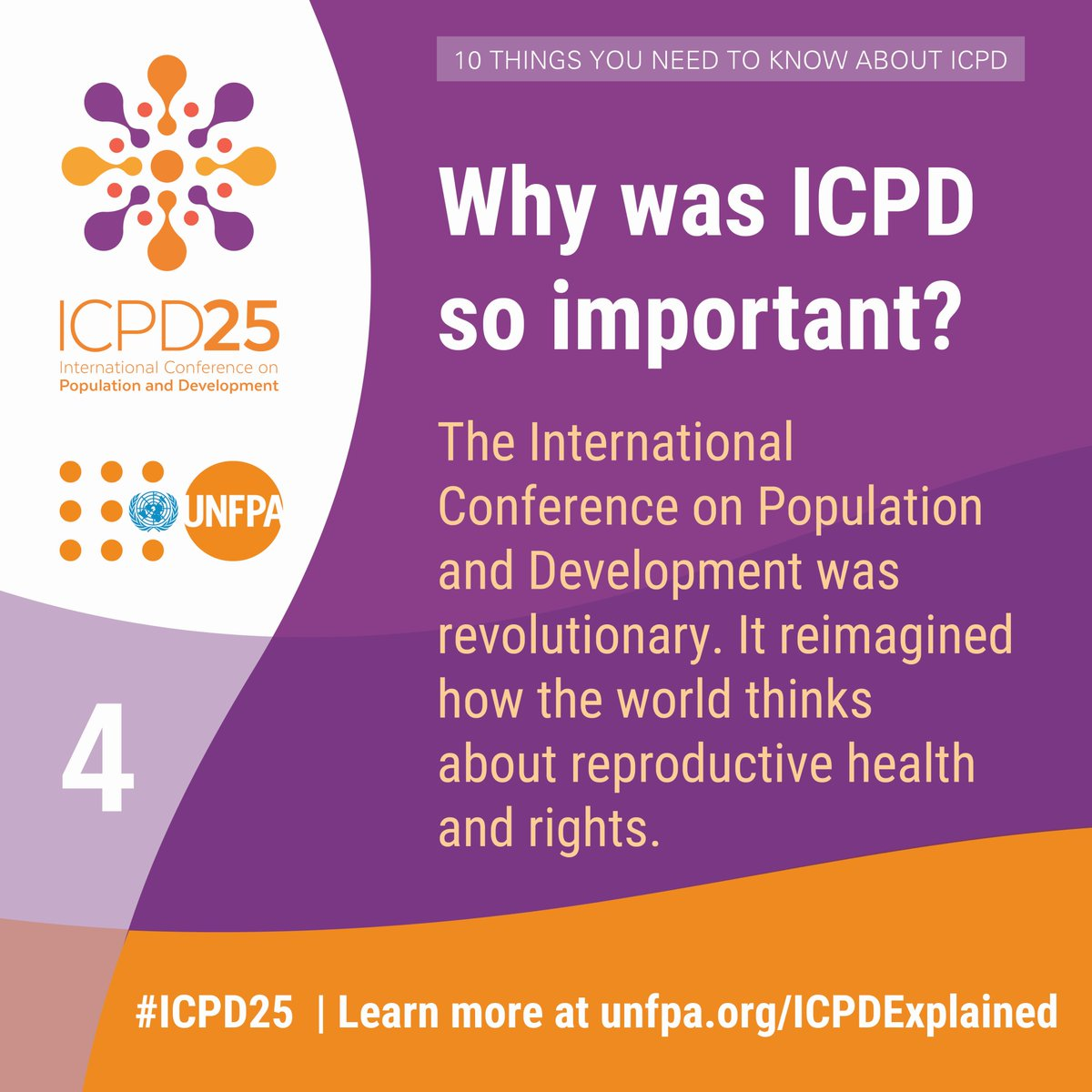 25 years ago, the world agreed that #reprohealth and #reprorights are key to sustainable development.  Let @UNFPA explain why this still matters today: http://unfpa.org/ICPDExplained  #ICPD25 #CPD52