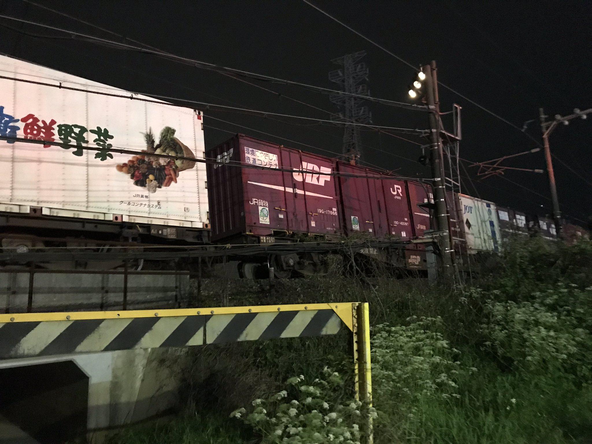 画像,鹿児島本線赤間-東郷間 下り線人身事故。列車対人のようです。車両の下を探しています。#鹿児島本線 #jr九州 #赤間 #人身事故 https://t.co/c5…