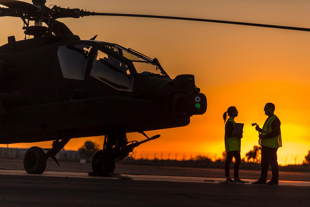 The @USArmy can adjust #AH64 flight tempo with ease. We provide flexible support for readiness on operational needs. #19SUMMIT #BoeingGlobalServices