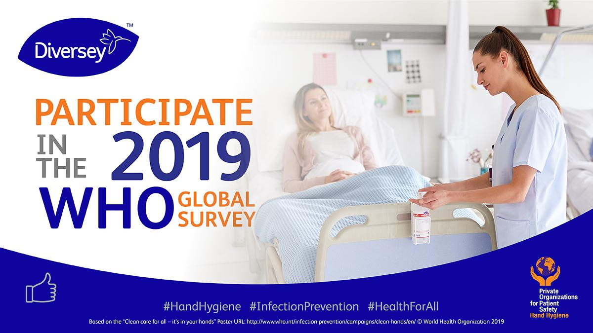 Still 30 days left! We are asking health care leaders to assess global #InfectionPrevention and #HandHygiene standards by taking part in the @WHO Global Survey 2019: http://ow.ly/ywfa50oulMH #InfectionPrevention #HealthForAll