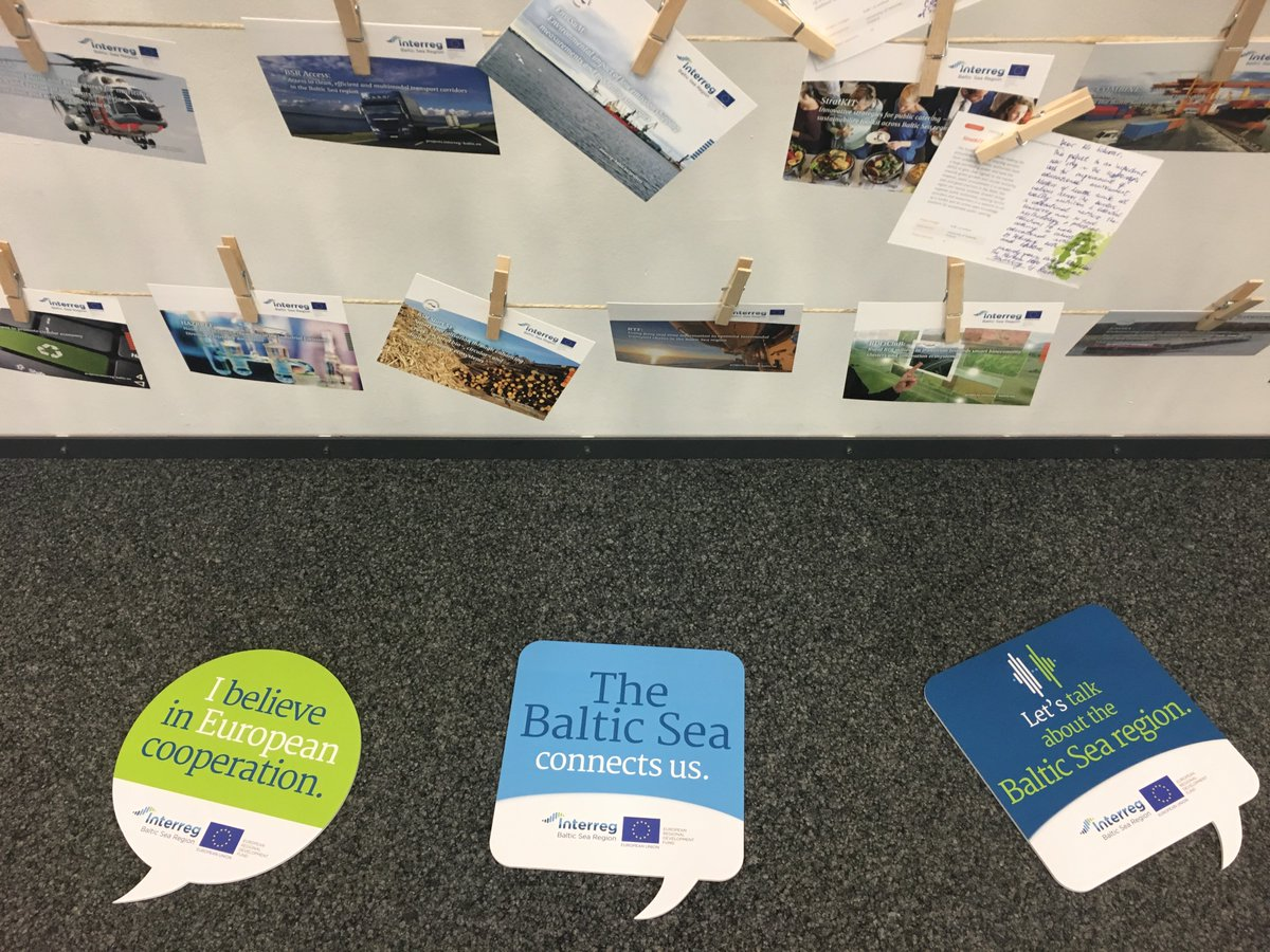 """Thank you for your active contributions and joint discussions on how #Interreg #BalticSeaRegion projects make #BSR a better place to work and live in. A truly #transnational spirit proved again that """"together and beyond borders we can do more!"""". #MadeWithInterreg"""