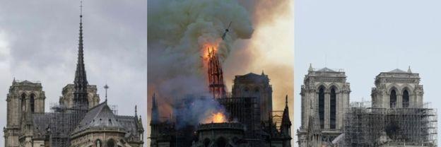 #NotreDameCathedralFire Photo