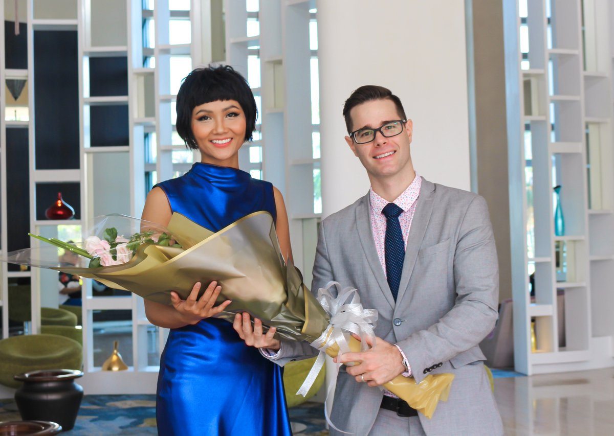 It's our great pleasure and honor to welcome Ms H'Hen Nie - Top 5 #MissUniverse 2018 to Grand Mercure Danang this April.  Thank you for choosing us as your hotel of choice during your visit to Danang city. #GrandMercureDanang #Hhennie #Hennie #MissUniverseVietnam #AccorHotels https://t.co/OG3Wa7IMm5