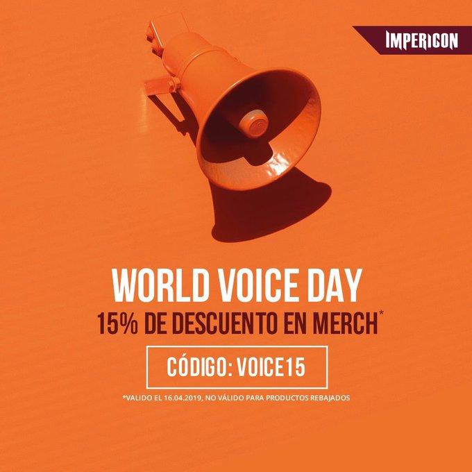 #WorldVoiceDay Photo