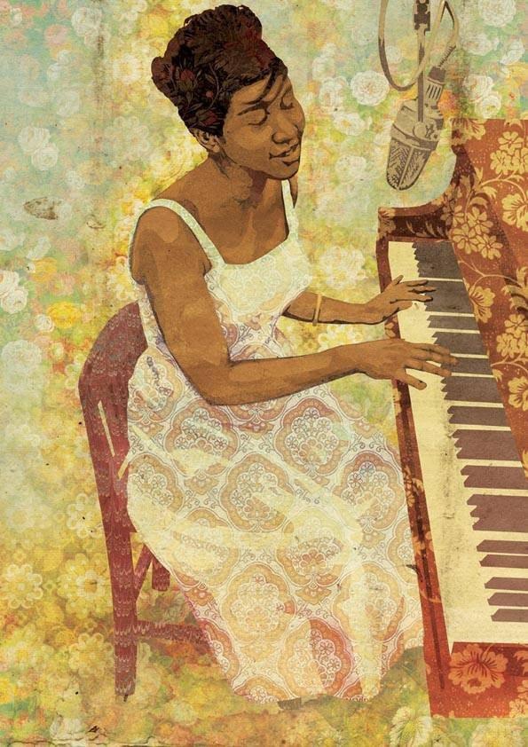louielouieprints's photo on Aretha Franklin