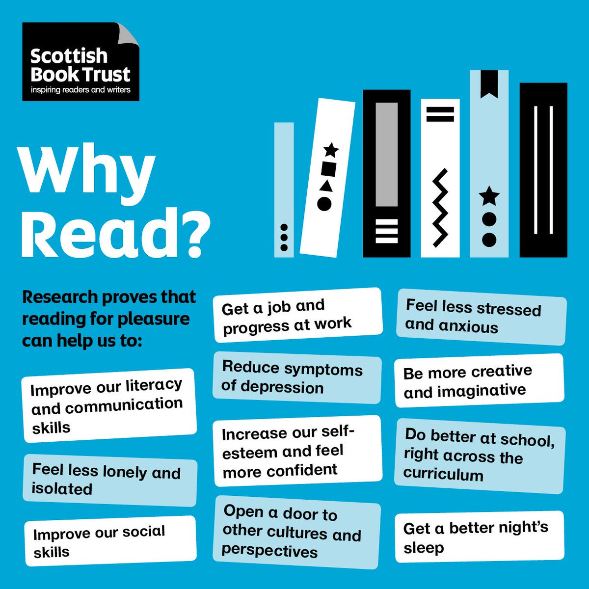 Scottish Book Trust's photo on #charitytuesday