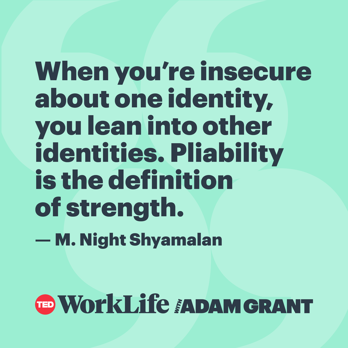 Adam Grant's photo on #TuesdayMotivation