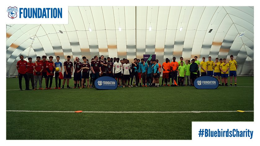 Inspired by the #PLKicksCup...  Great to have 6⃣0⃣+ young people with us at our @PLKicksCCFC tournament at @CDFSportsCampus today👋  Teams from a number of our #PLKicks sites have come together for a day of fun, competitive sport to keep them active!⚽  #OurClubChangesLives💙