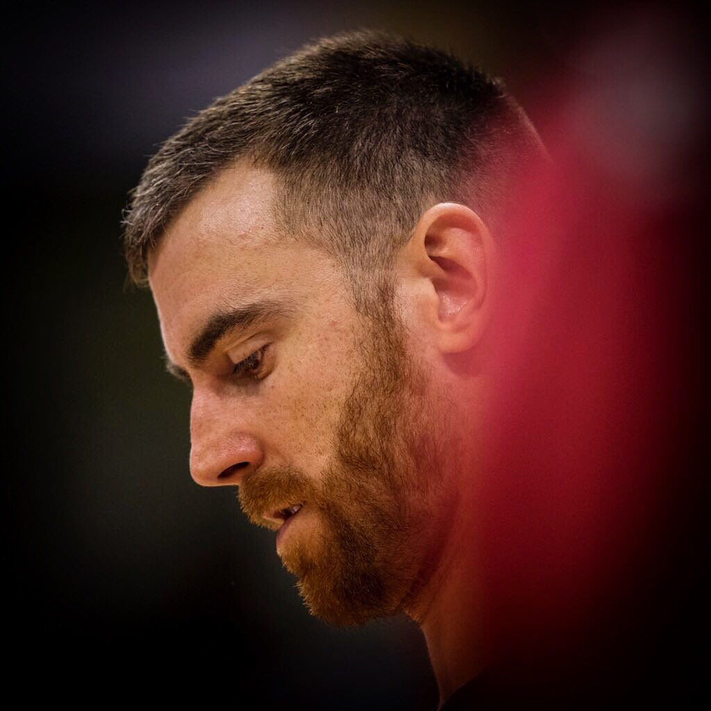 FOCUSED @EuroLeague #Playoffs 💪🏼🔵🔴 #forçabarça
