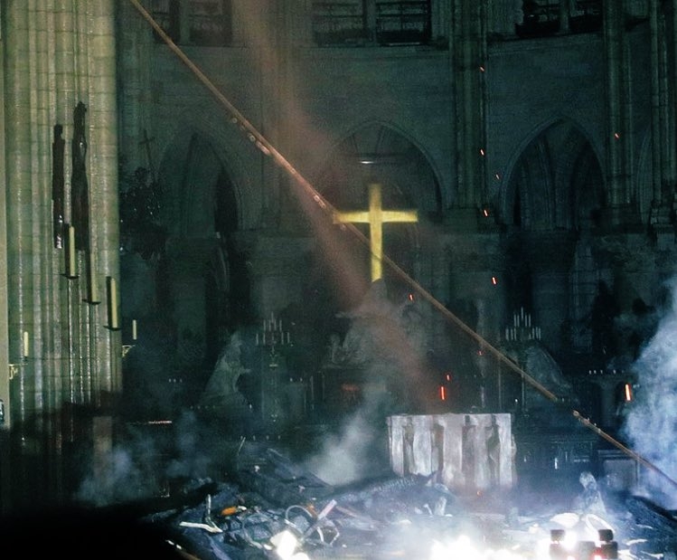 """Hold the cross up high so I may see it through the flames"" - Last Words of Joan of Arc"