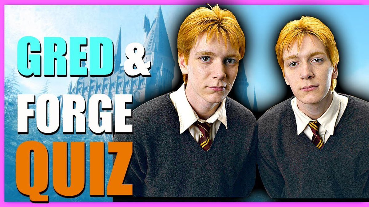NEW VIDEO! Pottermore Weasley Twin Quiz  https:// youtu.be/VY55R6JwPNM  &nbsp;  <br>http://pic.twitter.com/kxXoqxESJ3