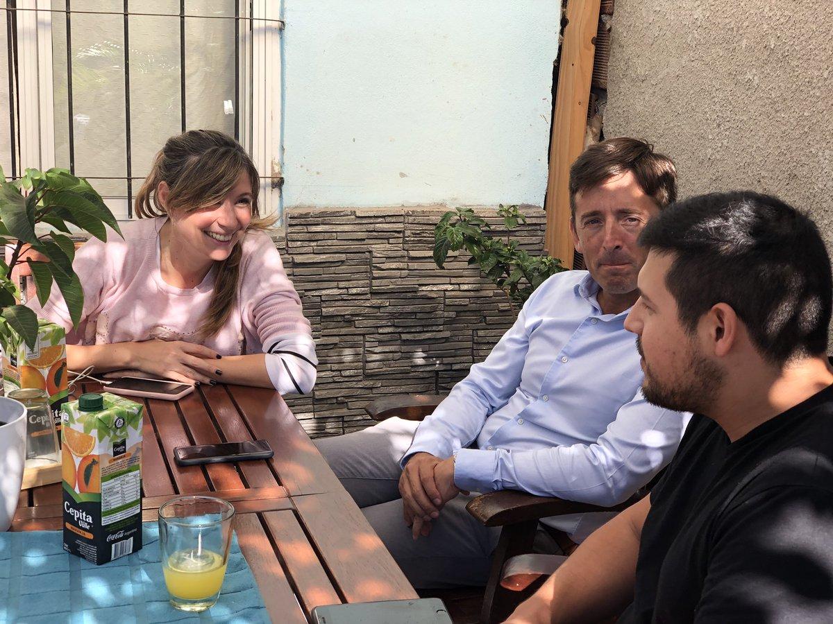 Volví a visitar a Gregorio, esta vez con @agustingarzon, del equipo de @ENACOMArgentina. Grego hizo una #RedComunitaria para brindarle internet a sus vecinos. Vamos a ayudarlo a potenciar su emprendimiento! 💪🏼