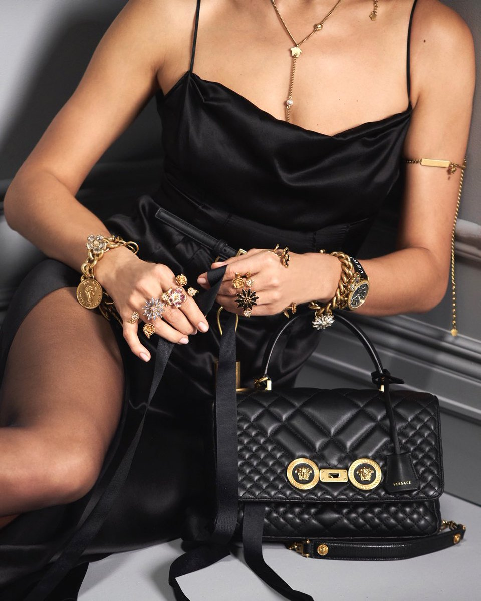6f2c0d8a2 flower embellished jewelry and the quilted icon bag with leather top handle  the new accessories for