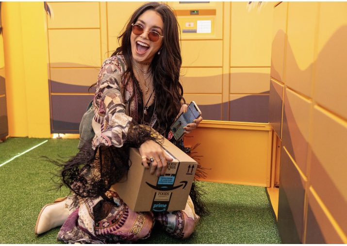 Amazon Lockers took so much pressure off me packing for @Coachella this year. SO convenient and easy. Pretty sure Lockers are going to be my new Amazon go-to-delivery method. Genius! . #amazonpartner #amazonlocker #coachella