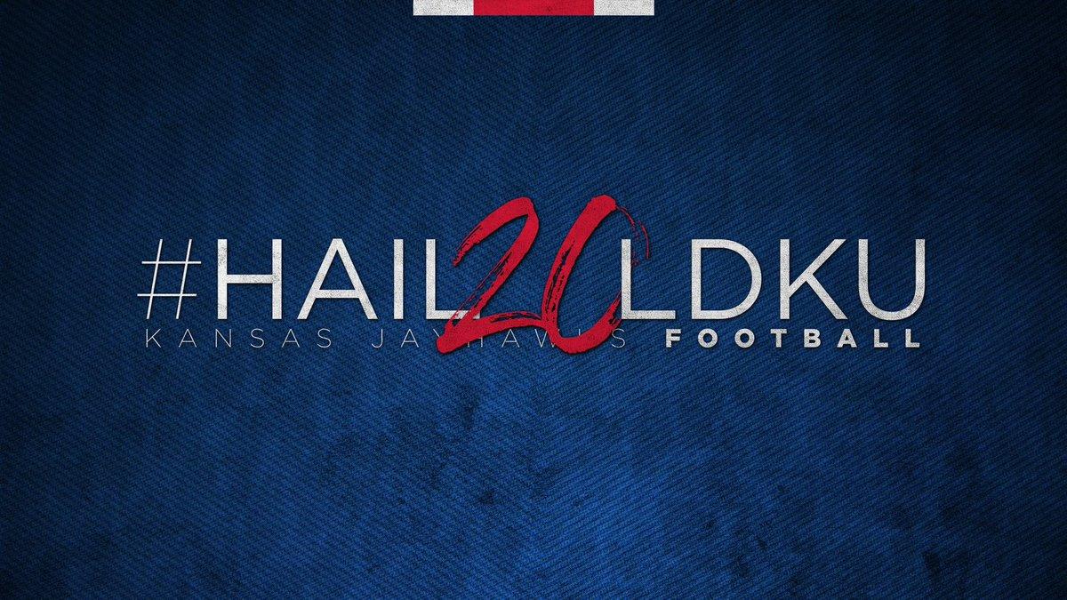 Here come the Jayhawks!  #Hail20ldKU