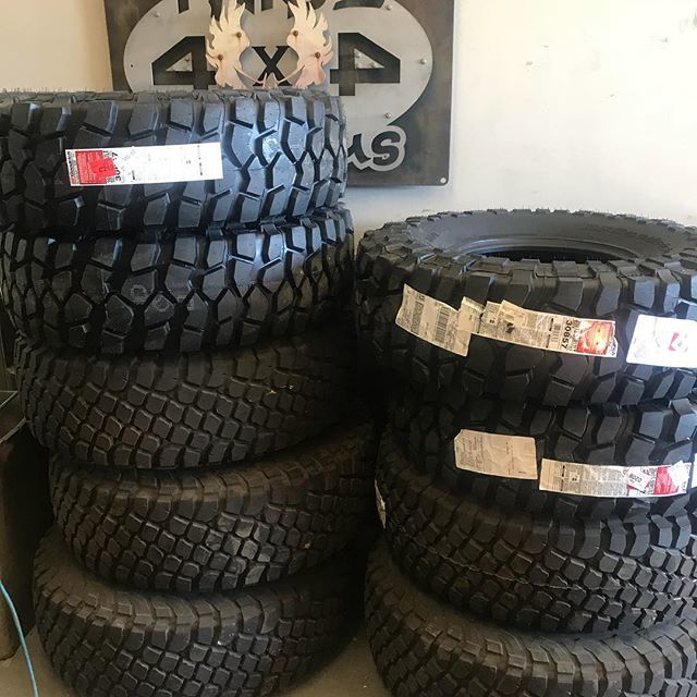 So much awesome stacked up right there! #bfgoodrich #bfgredlabels #bfgkm3 #builtonbfg #tribe16  http:// bit.ly/2GhgPBL  &nbsp;  <br>http://pic.twitter.com/5It1jOL94U