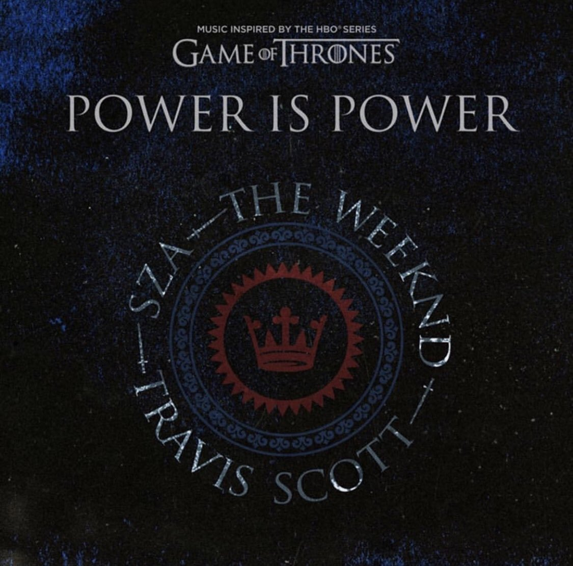 heavy is the crown... but only for the weak. POWER IS POWER 4/18 #GAMEOFTHRONES been watching this show since 2011... my fans know! 🐺🐺🐺 didn't think twice !