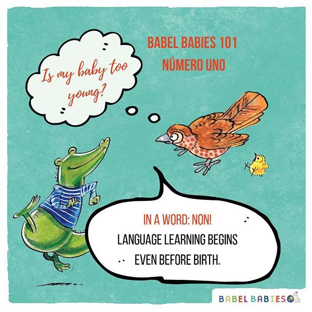BABIES are able to hear any sound in any language for most of their first year.  If you expose babies to foreign #languages and sounds in their first year, and enjoy learning languages together, they will develop a lifelong positive relationship with lea… http://bit.ly/2GpCqci