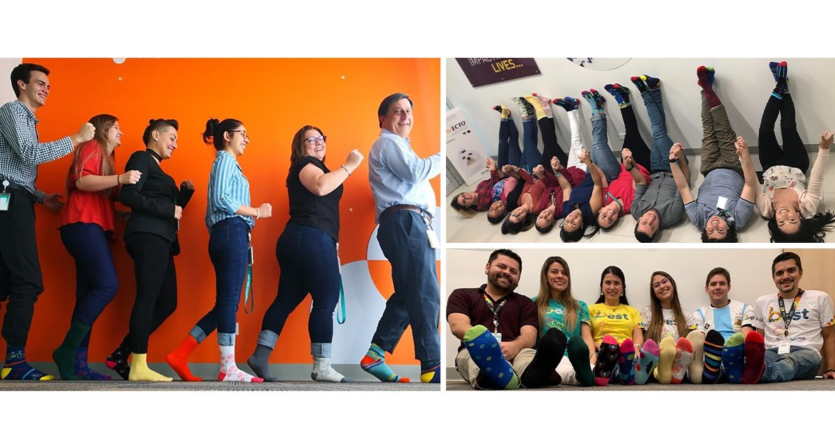 Way to rock your socks! The #MSDCostaRica capAbility Network had 100% participation in the #LotsOfSocks initiative for #WorldDownSyndromeDay. We're proud to support diversity activities that lead the way for an inclusive workplace. #AtMSDImInspired #PoweredByInclusion #MSDLatam