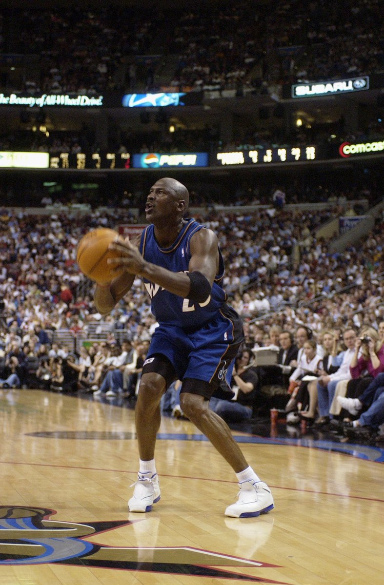 4c58ac7ae19 michael jordan played his final nba game 16 years ago today while wearing  the white royal
