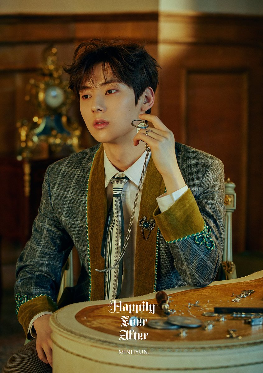 NU'EST 'Happily Ever After' OFFICIAL PHOTO VER. 1 #MINHYUN #REN #뉴이스트_JR_Aron_백호_민현_렌  #NUEST #Happily_Ever_After #20190429_6PM