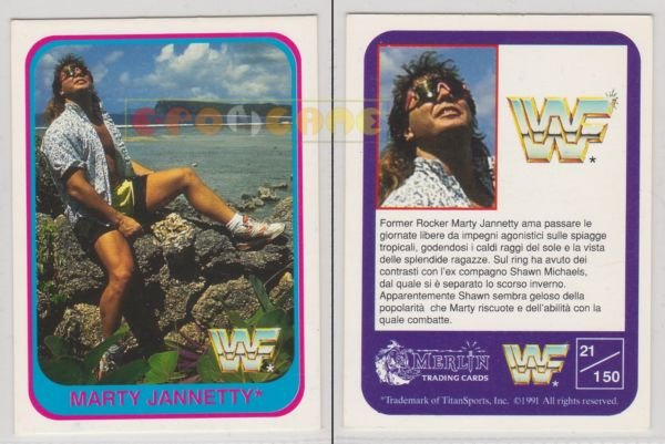 "NEW BLOG where I cover some wrestling merchandise that, to me, is a ""MUST HAVE,"" such as this purely timeless Marty Jannetty Trading Card. Come on, you wish you had this kind of swag. #RAW #WWE #SmackDownLive  Read More: https://www.geekwiththat.com/2019/04/16/the-best-wrestling-merchandise-april-2019/ …"