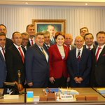 Image for the Tweet beginning: İlçe belediye başkanlarımızla birlikte İyi
