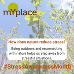 Image for the Tweet beginning: How does nature reduce stress?