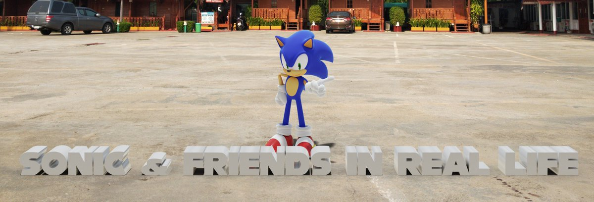 Smez Prakezz The Red Hedgehog On Twitter Testing My Photomanipulation Skill Once Again I M Gonna Make A Series Of Picture Called Sonic Friends In Real Life Which Is Series Of