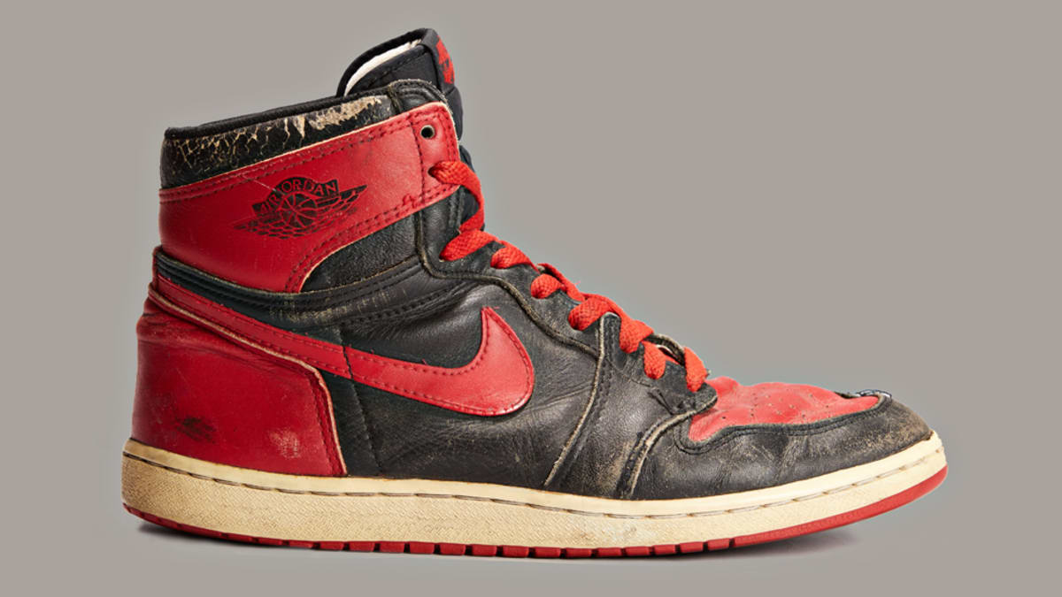 new style 9244a da84b the banned air jordan 1 will reportedly return in og form for black friday  2019