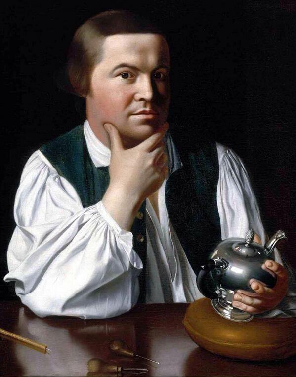 Paul Revere made his midnight ride this week 1775: