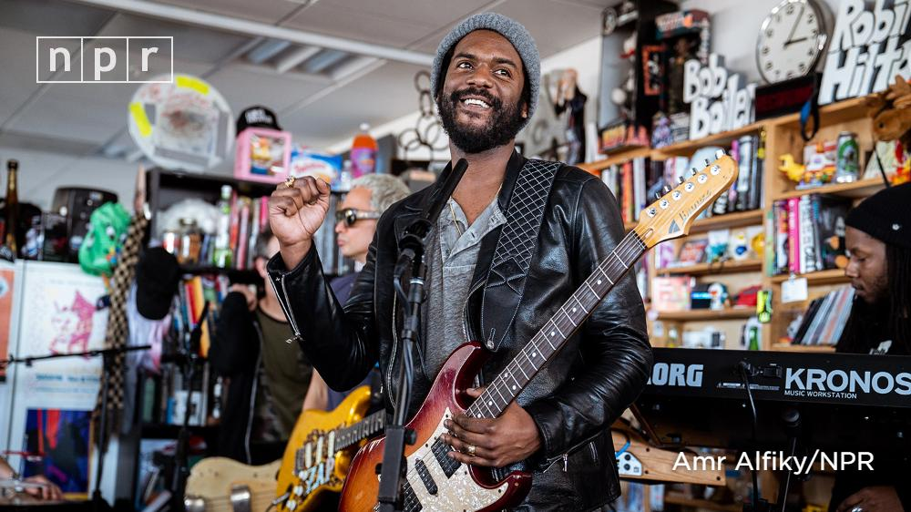 Watch Gary Clark Jr. (@GaryClarkJr) perform three incendiary songs from his new album, 'This Land,' from the #TinyDesk. https://n.pr/2DgLluV