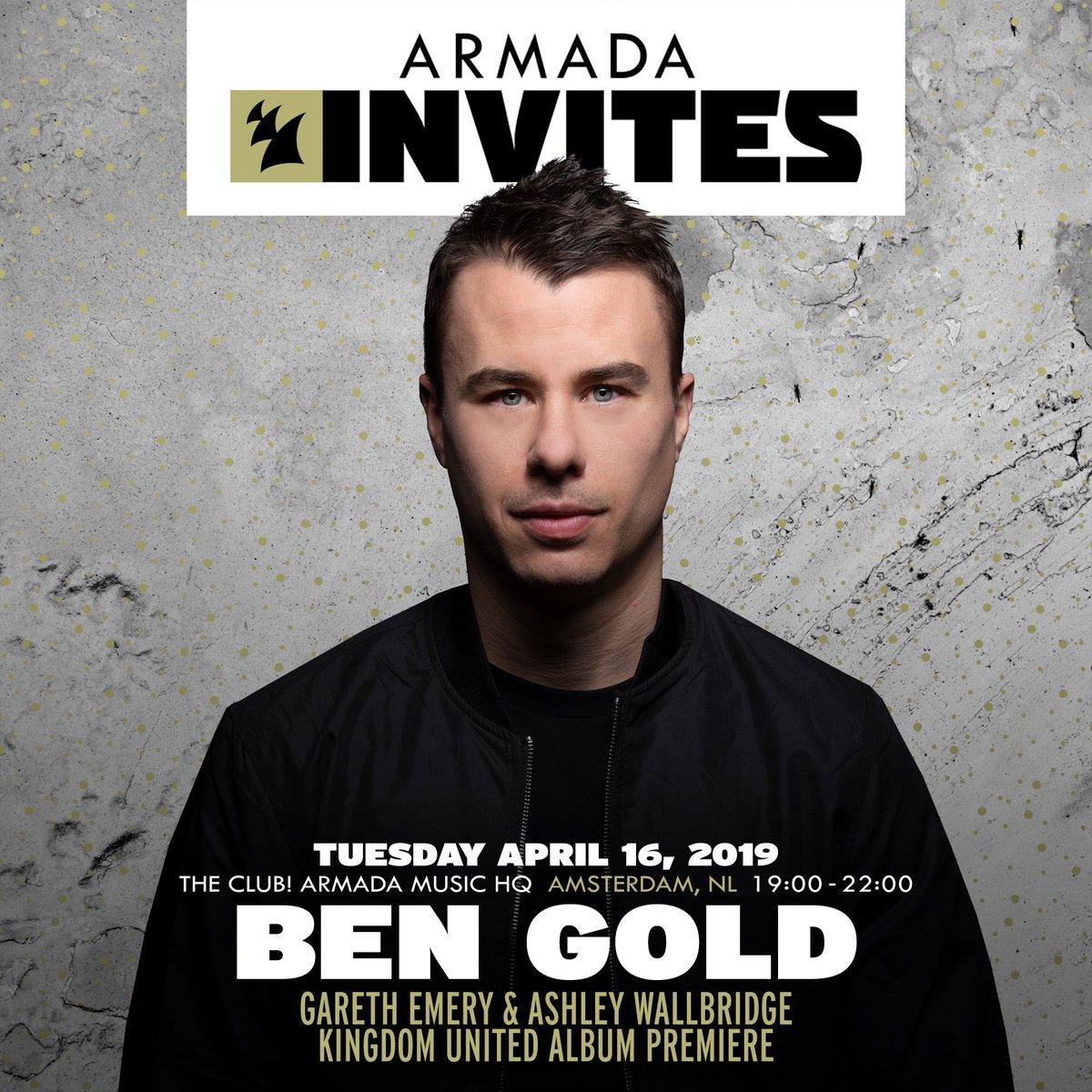 Armada Invites - Ben Gold ile ilgili görsel sonucu