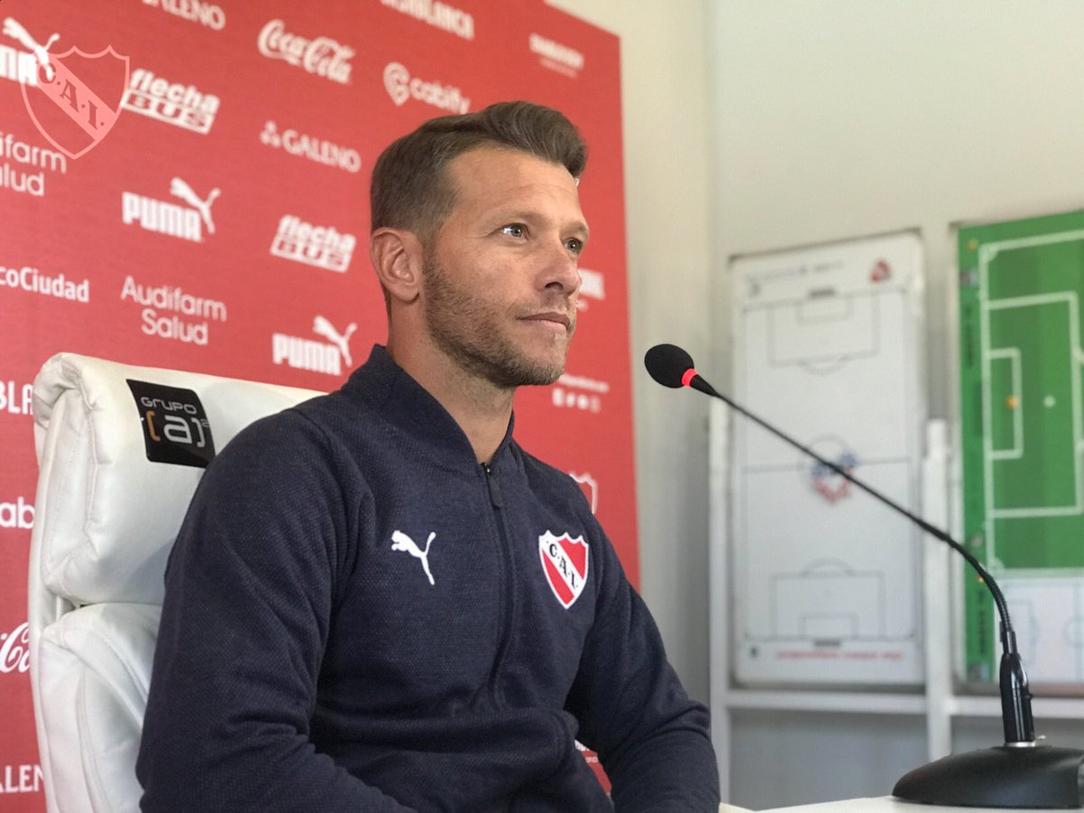 """Domingo: """"Estoy muy feliz en Independiente, tengo mucho compromiso por el Club"""""""