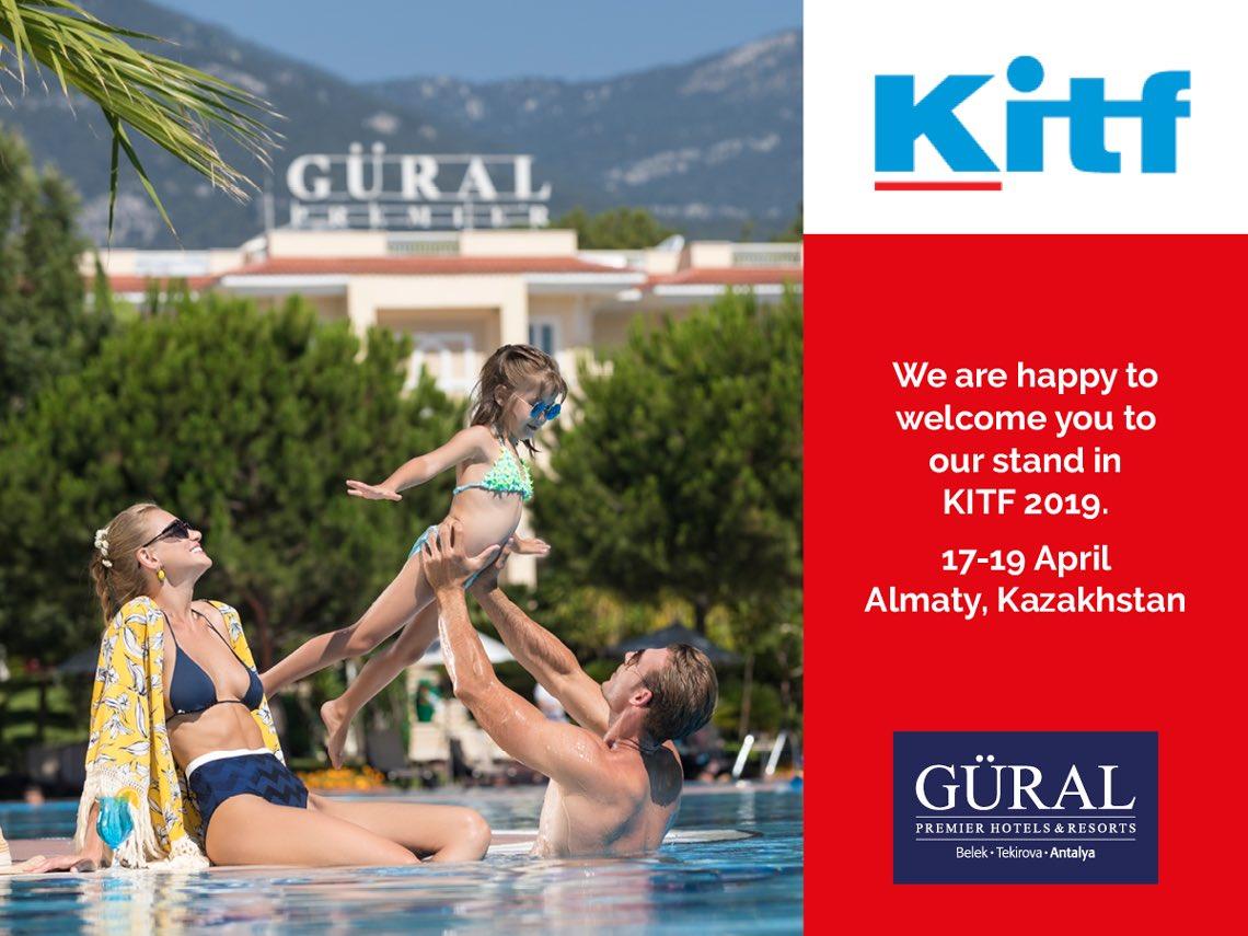 Kazakistan'ın Almatı şehrinde gerçekleştirilecek olan KITF fuarında sizleri standımızda ağırlamaktan mutluluk duyarız. •••••• We are happy to welcome you to our stand at the KITF 2019 exhibition in Almaty, Kazakhstan.  #guralpremier #kitf