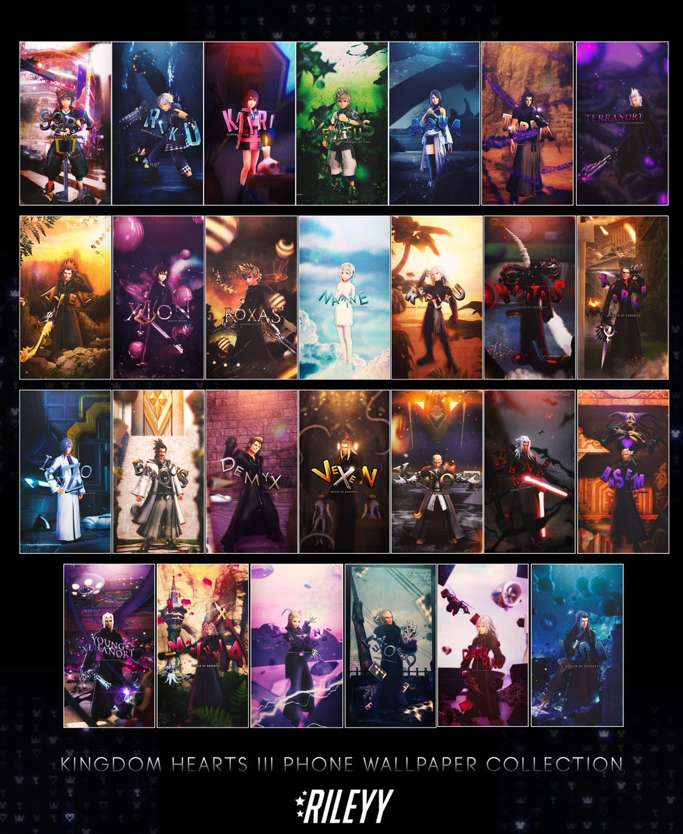 Rileyy On Twitter Here S My Current Kingdom Hearts 3 Phone