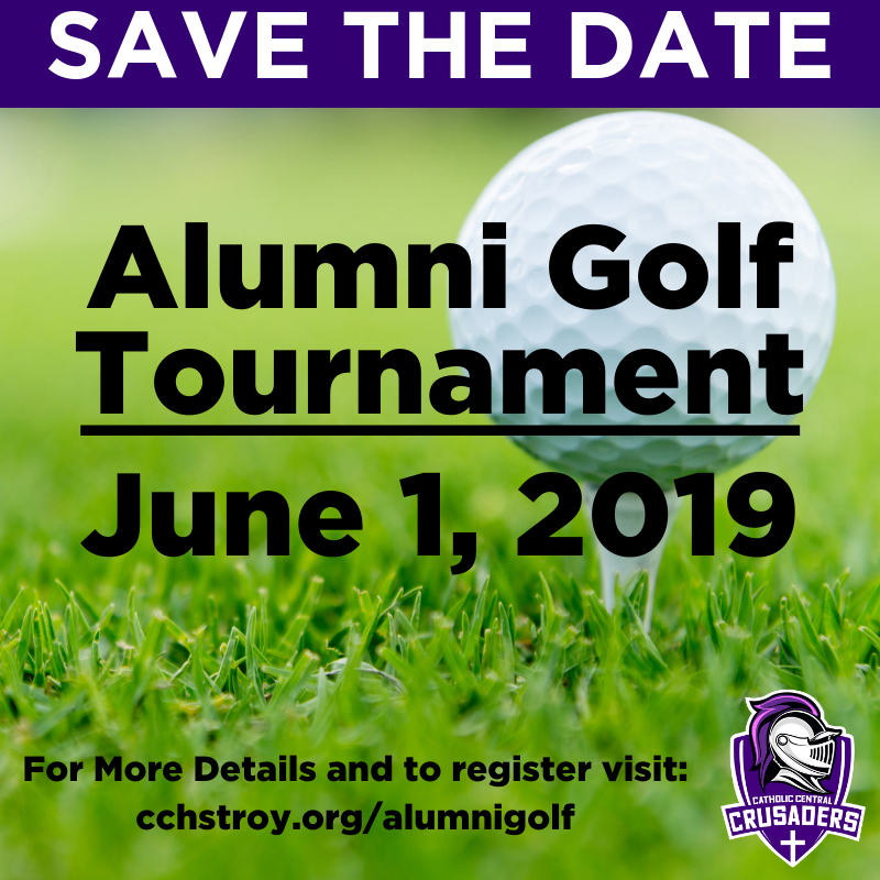 Don't forget to register for our annual Alumni Golf Tournament!