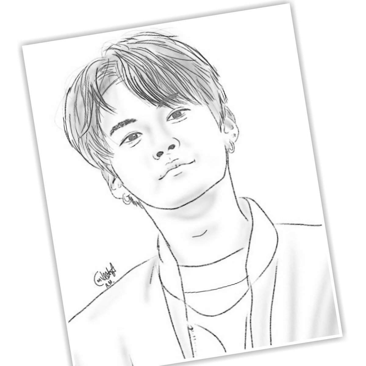 "Thread By Juyeonisme ""TUTORIAL MEMBUAT SKETSA WAJAH SPRTI"