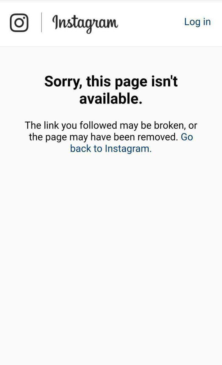 صفحه انگلیسی خامنه ای نیز دقایقی قبل توسط #اینستاگرام بسته شد/ سحام نیوز