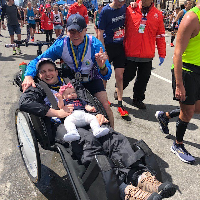 #ICYMI Secret Service Agents Garrett FitzGerald and Donald McGrail finished the 123rd #BostonMarathon together. <br>http://pic.twitter.com/sVTkBNyGRt