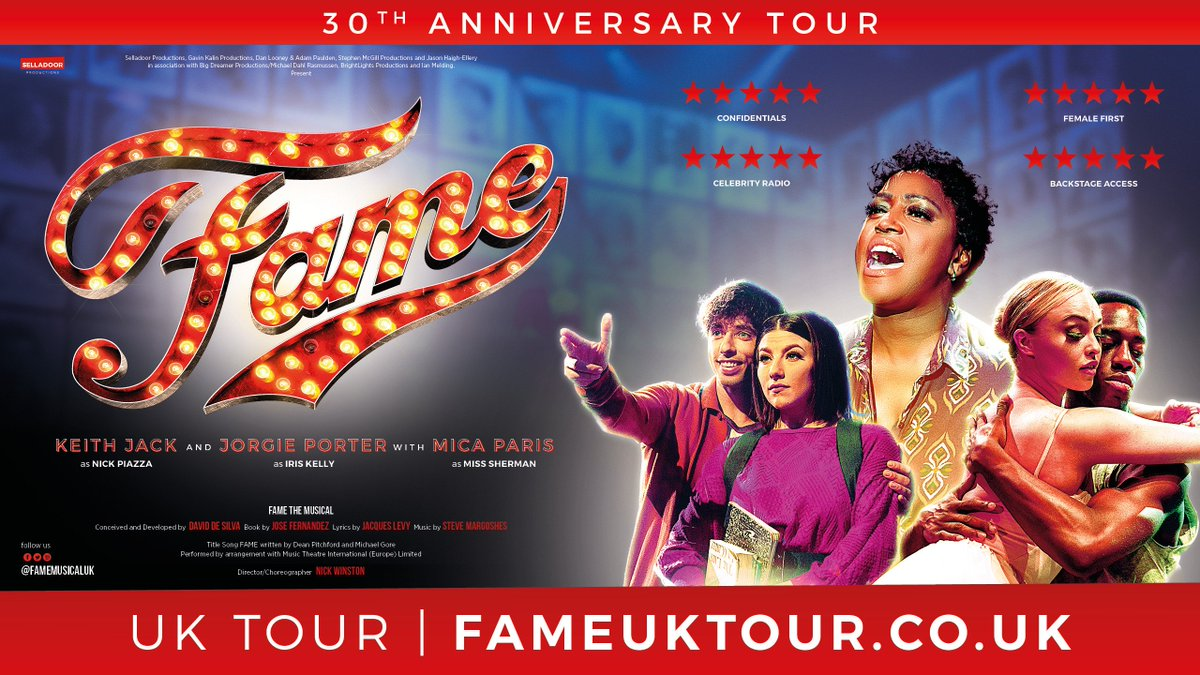 Fame UK Tour posted media