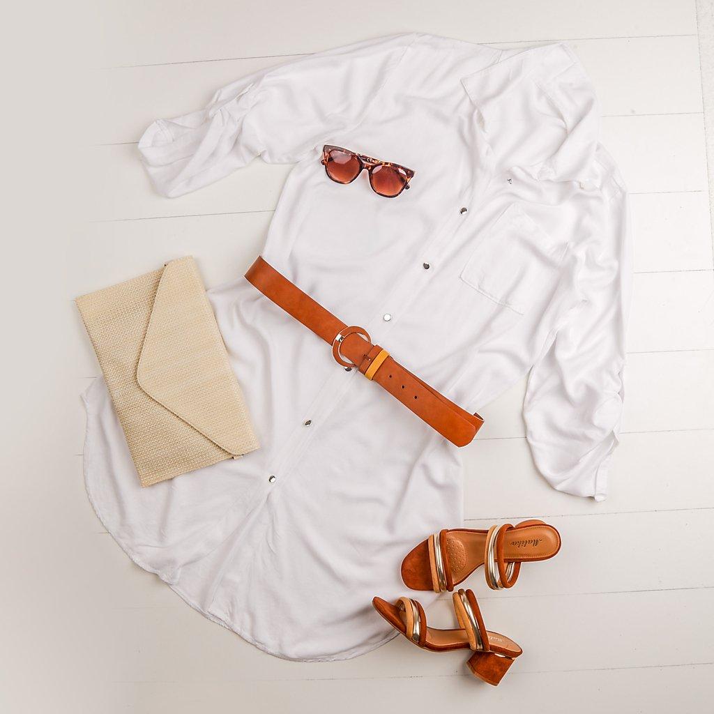 Outfit of the day ❤️ Φτιάξε και συ το δικό σου >> https://t.co/QszOGitd6d  Φόρεμα: 2281904 / 22.99€ Ζώνη: 22428 / 9.99€ Mules: 22870 / 29.99€ Γυαλιά: 22437 / 8.49€ Φάκελος: 22955 / 19.99€  #luigigirl #luigi_footwear #luigi_studio #luigi #outfit https://t.co/r4PImYcf18
